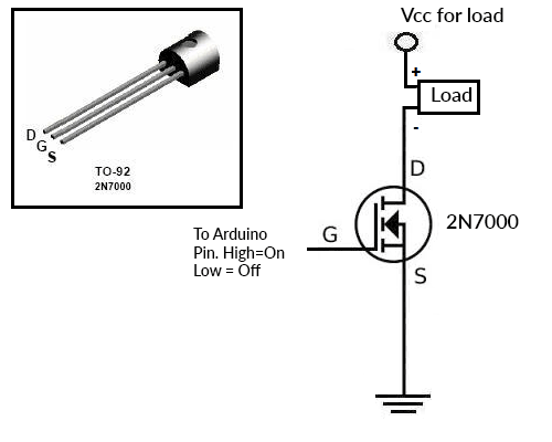 2N7000-Switch-circuit