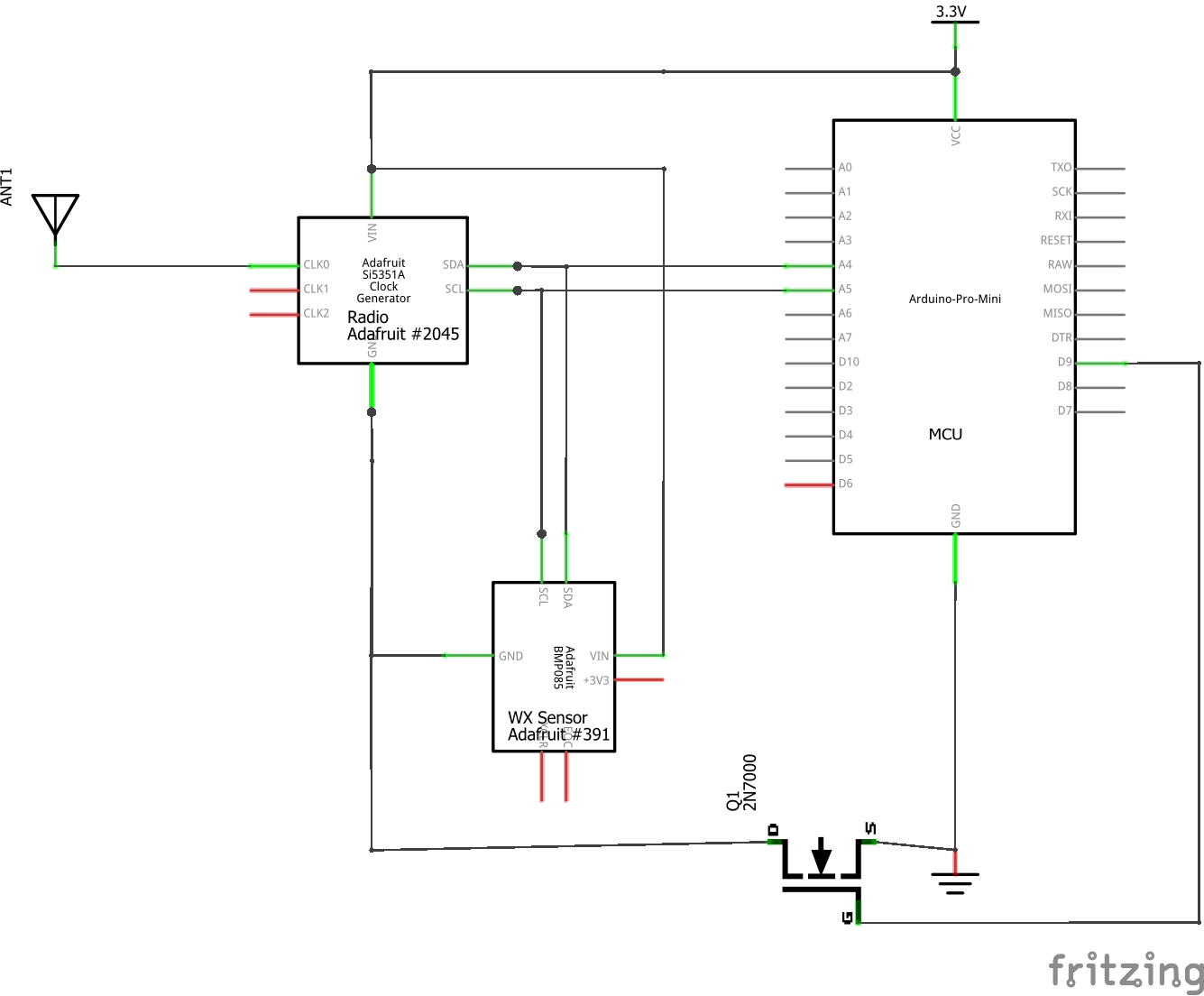FS#1 Flight Controller schematic
