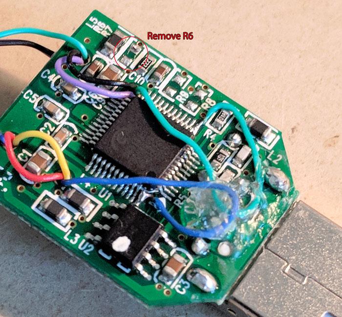 Sound FOB Bottom Side R6 Remove
